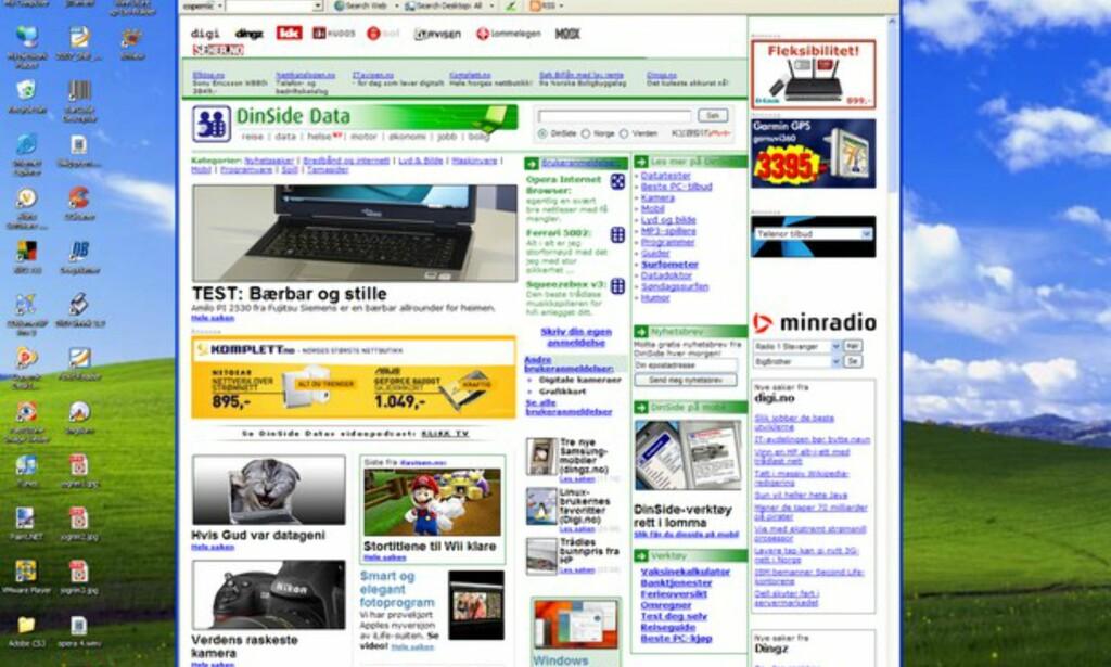 image: Problemer med bredskjerm