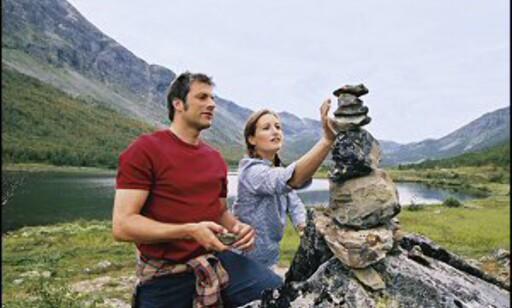 Til fjells finner friluftsfolk likesinnede. Foto: Gaby Bohle/Innovasjon Norge