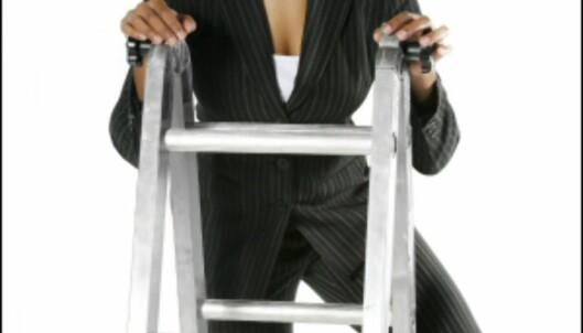 Ett trinn om gangen? Eller rett til topps? Mye handler om muligheter. <i>Illustrasjonsfoto: iStockphoto.com</i> Foto: iStock