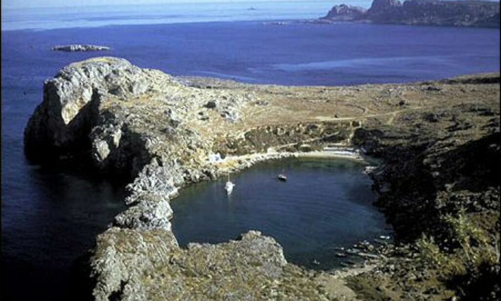 En lagune på Rhodos. Foto: Wonderful Greece
