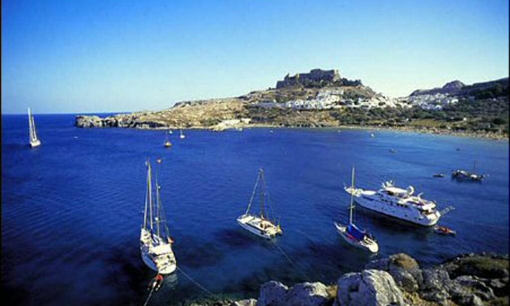 Lindos på Rhodos. Foto: Wonderful Greece
