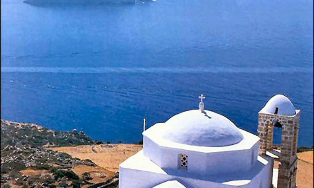 Vakkert og gresk fra Milos. Foto: Wonderful Greece