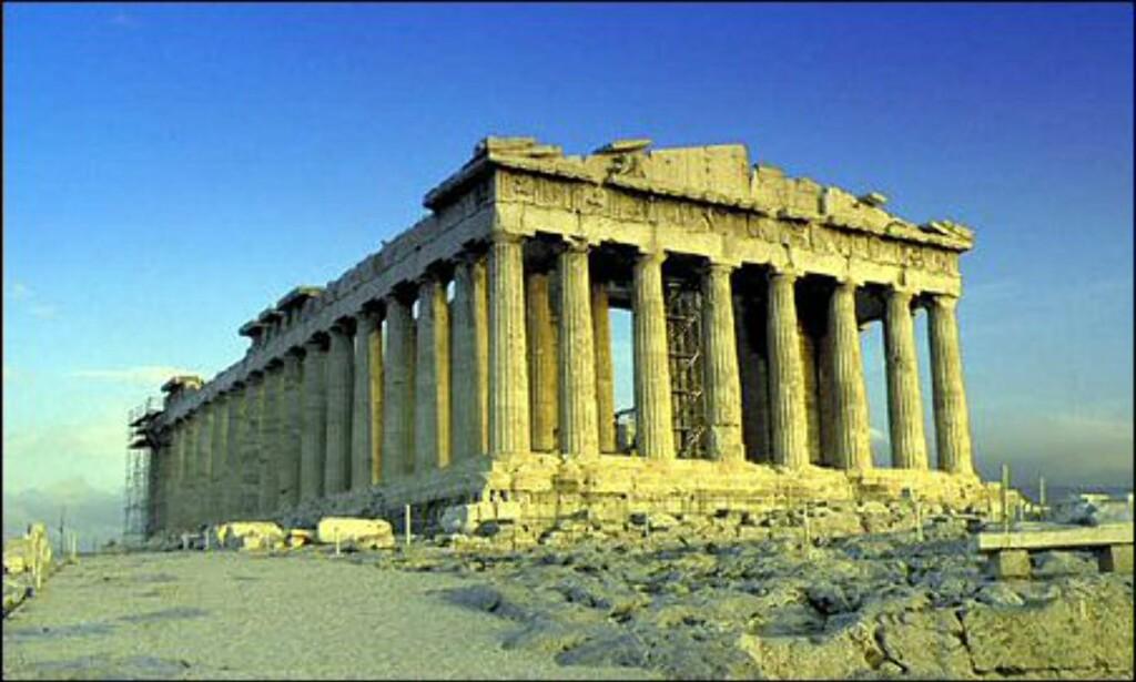 Akropolis i Aten. Foto: Wonderful Greece