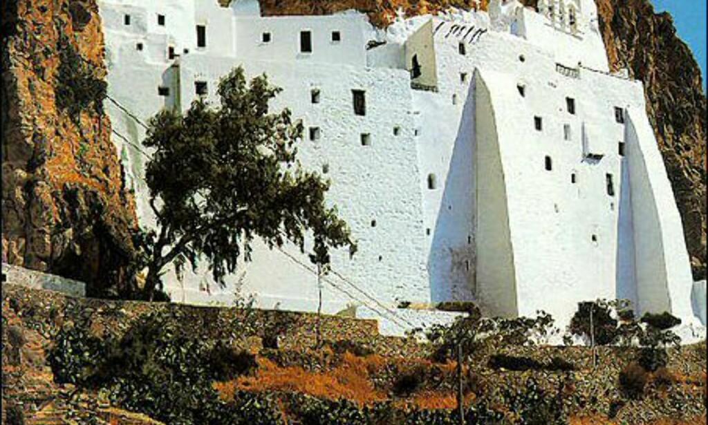 Moni Hozoviotissas på Amorgos. Foto: Wonderful Greece