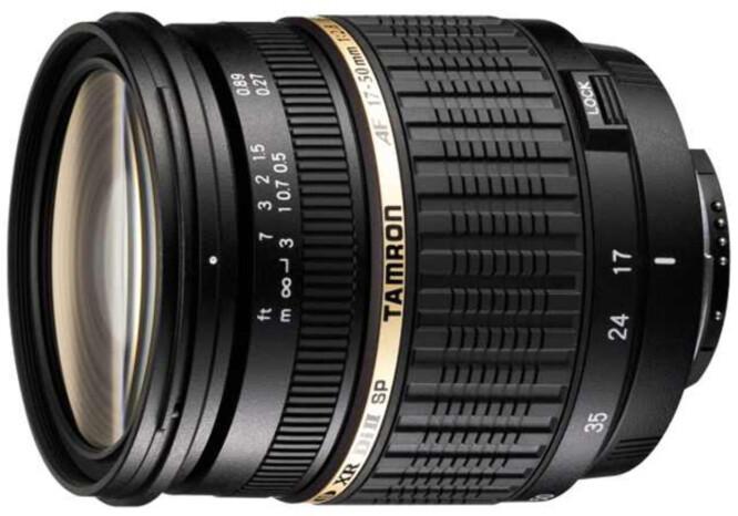 Tamron SP AF 17-50mm F2.8 XR Di ll LD Aspherical (IF) - prisbelønt optikk fra Tamron.