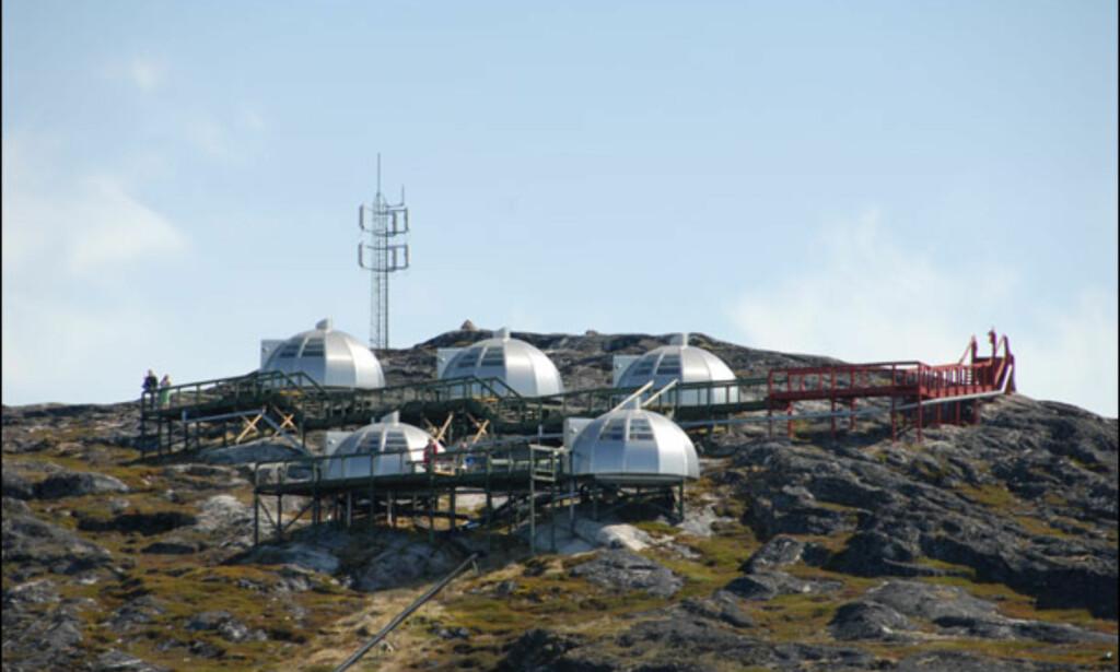 Spennende hotellalternativ hos Hotel Arctic i Ilulissat. Foto: Lars Brubæk