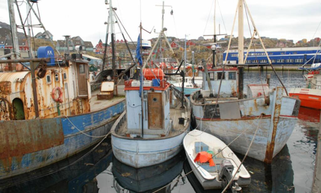I havn i Sisimiut. Foto: Lars Brubæk