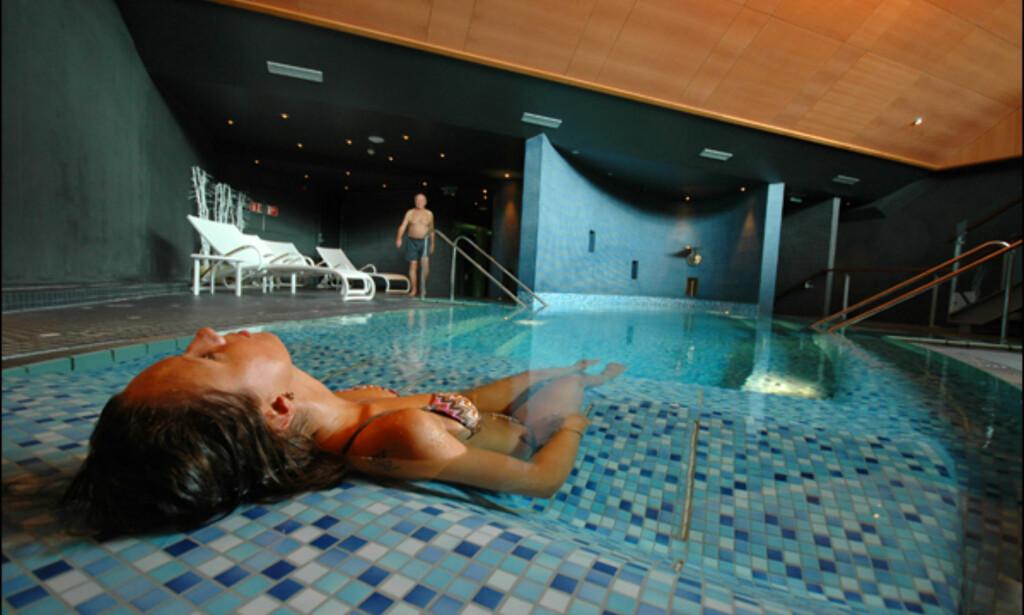 Spa på Hotell Alexandra i Loen/Nordfjord. Alle foto: Hans Kristian Krogh-Hanssen.