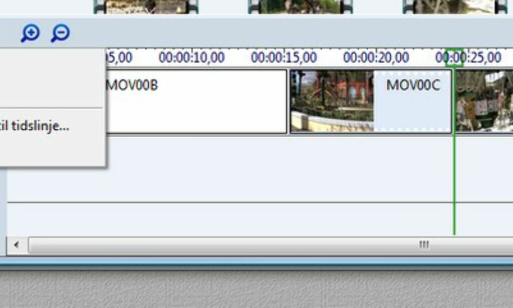 Windows Movie Maker i praksis