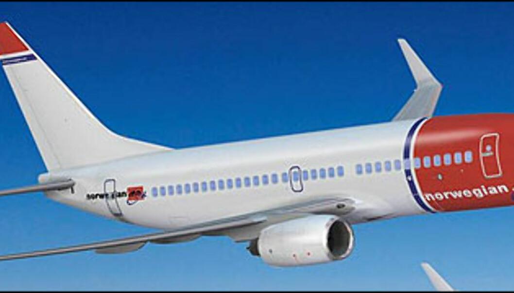 Boeing 737-800 er Norwegians nye flytype, som muliggjør langflygninger. Foto: Norwegian