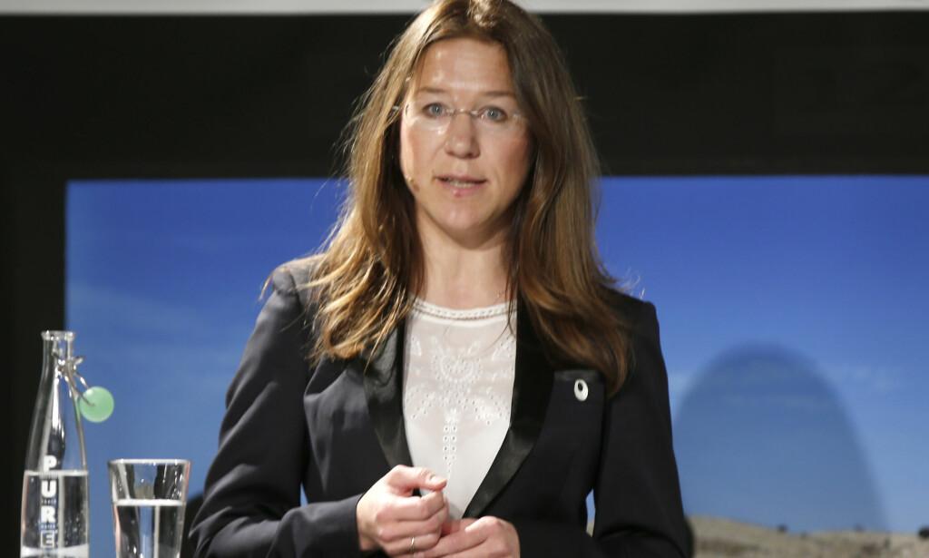 ADVARER: Anine Kierulf, postdoktor ved Senter for mennekskerettigheter ved UiO, advarer mot innskrenkinger i ytringsfriheten. Foto: Vidar Ruud / NTB scanpix