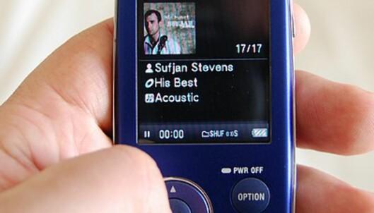 Sony NWZ-A805
