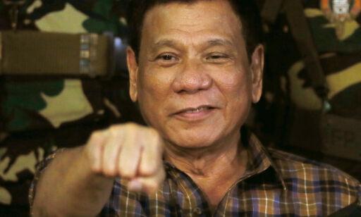 image: Duterte til EU: - Jeg vil henge dere med glede