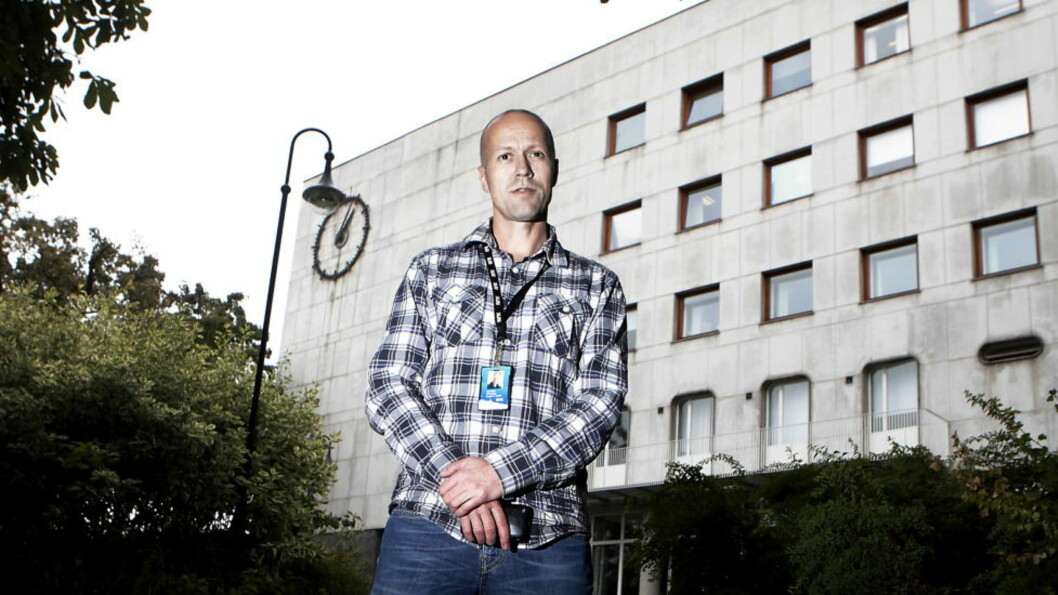 <strong>MÅ SPARE:</strong> Nyhetsdirektør Per Arne Kalbakk i NRK må blant annet droppe Dagsnytt 18 og påkostet årskavalkade i jula. Foto: ERLING HÆGELAND/Dagbladet