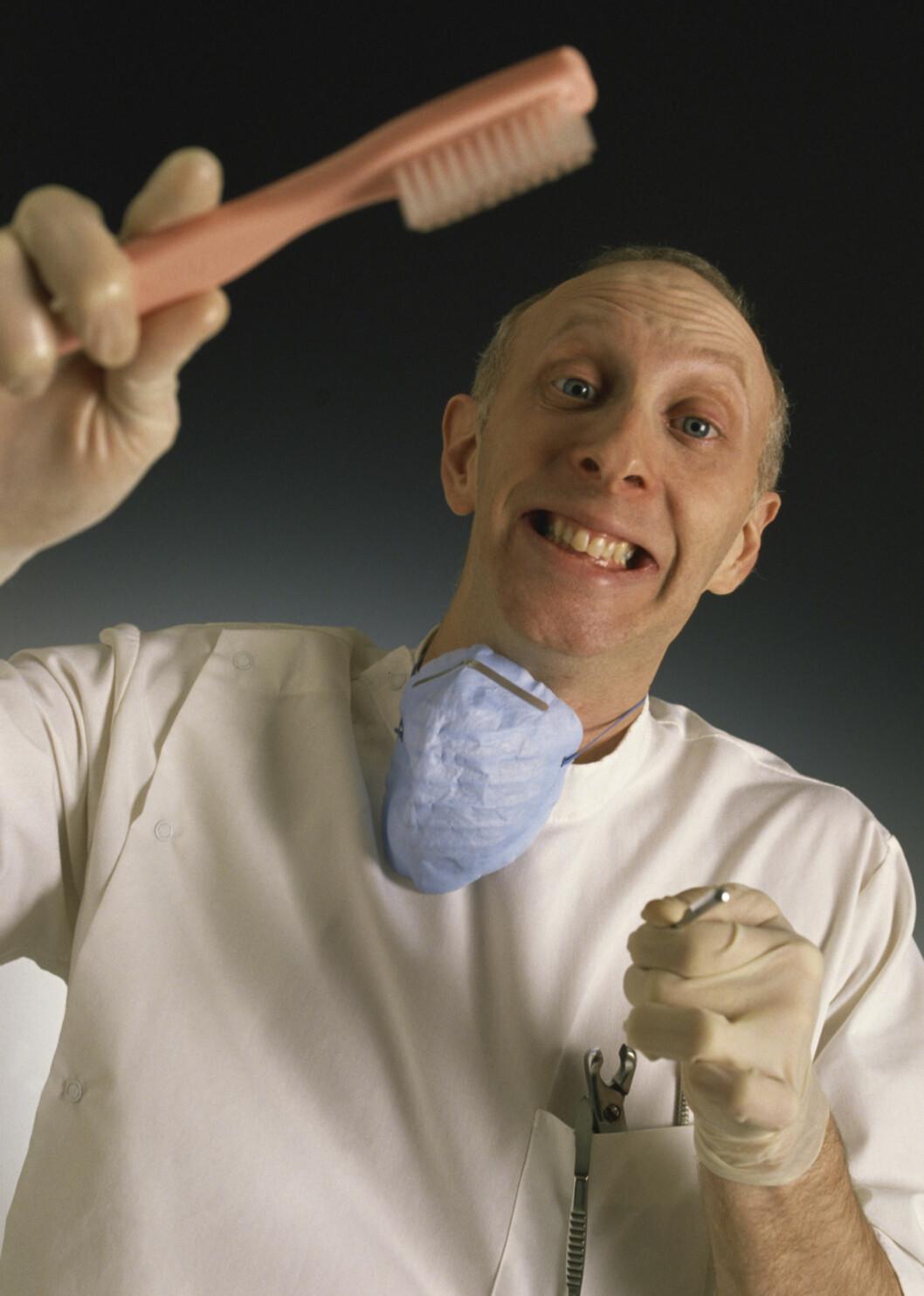 Skrekk og gru hos tannlegen
