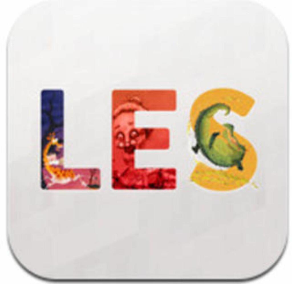 image: Her er appene som lærer barna å lese