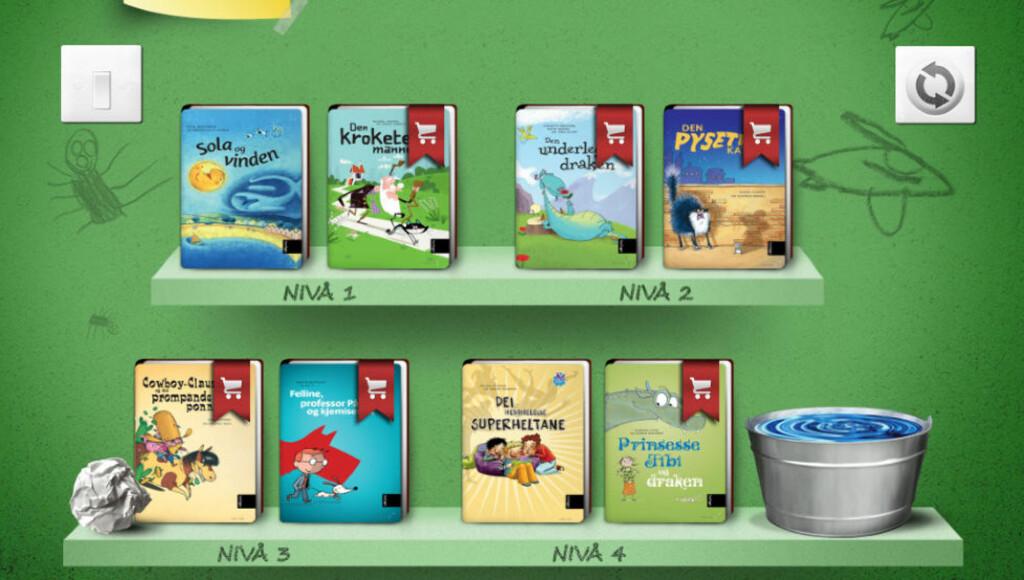 LES SELV: Med appen «Leseland» vil Samlaget lære barna å lese selv.