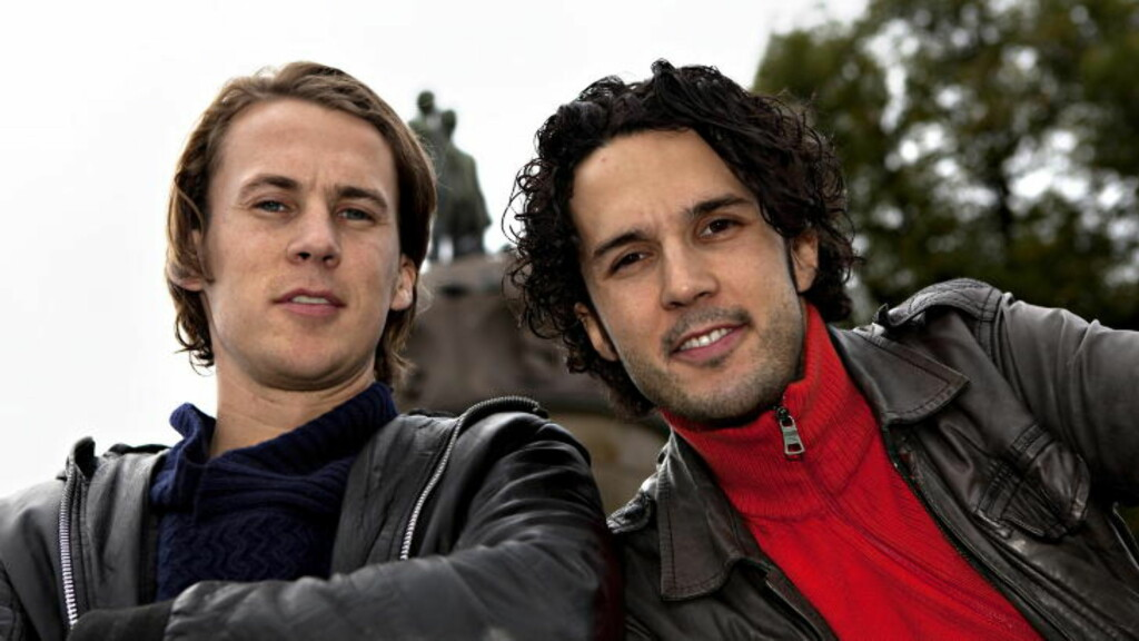 HAR SUKSESS: Ylvis-brødrene Bård og Vegard Ylvisåker har hatt stor suksess med årets musikkvideo, allerede før premieren på programmet på TVNorge i dag. Foto: Anders Grønneberg