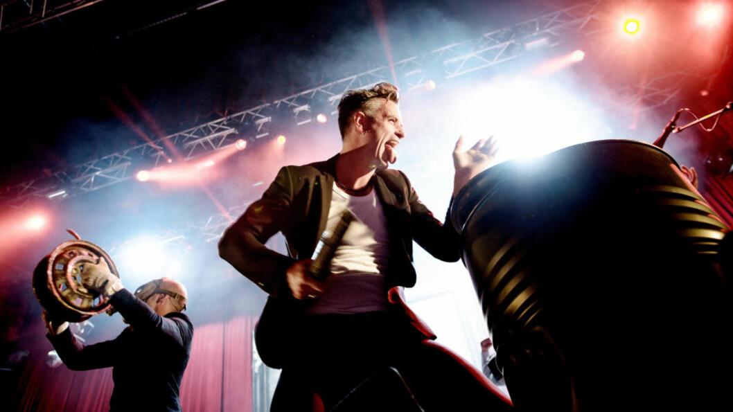 <strong>GRAVØL:</strong> Siste kapittel i Kaizers Orchestra-sagaen skrives denne helgen i DNB Arena i Stavanger. Foto: Tommy Ellingsen / DAGBLADET
