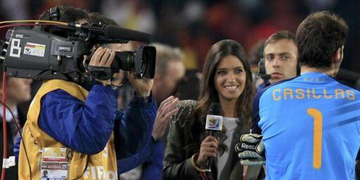 image: Casillas vil feire EM-gull med nytt journalistkyss