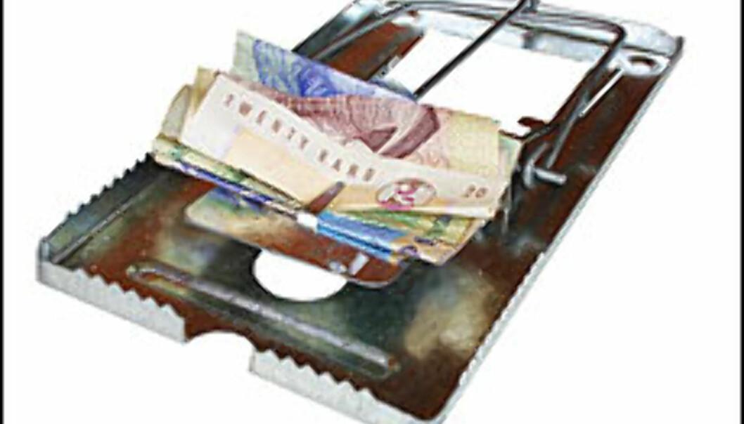 Ekstremshopperne unndrar betalingsanmerkninger, men inkassoselskapene følger likevel etter dem.