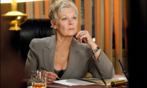 Judi Dench har beholdt rollen som M.