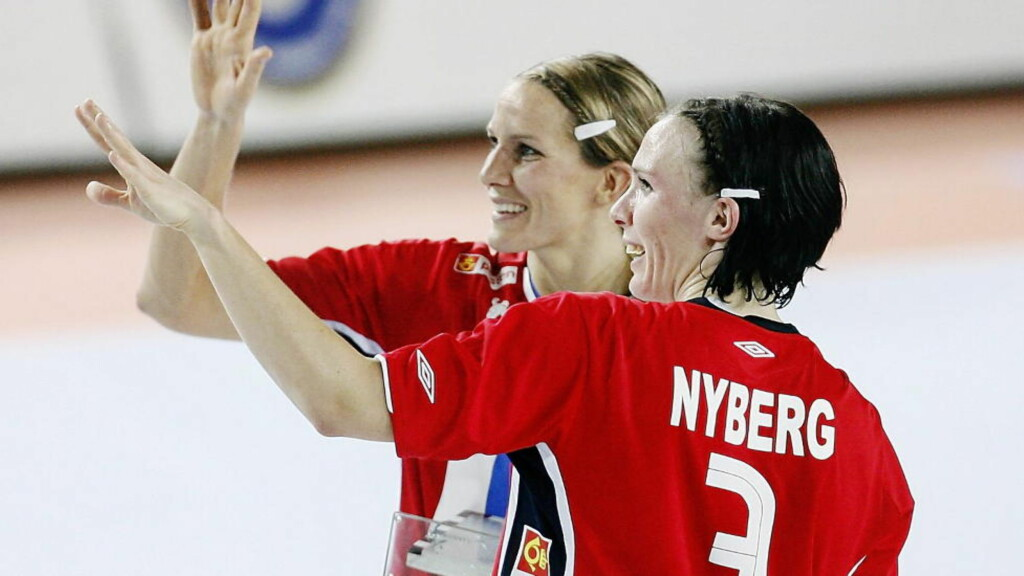 GOD TID:  Gro Hammerseng og Katja Nyberg delte mange minner både privat og på håndballbanen. Foto: Dagbladet