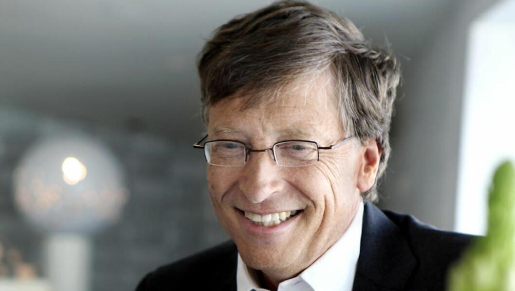 <strong>MICROSOFT:</strong> Flere investorer vil å bytte ut styreleder i Microsoft, William Henry «Bill» Gates III. Foto: Mette Randem