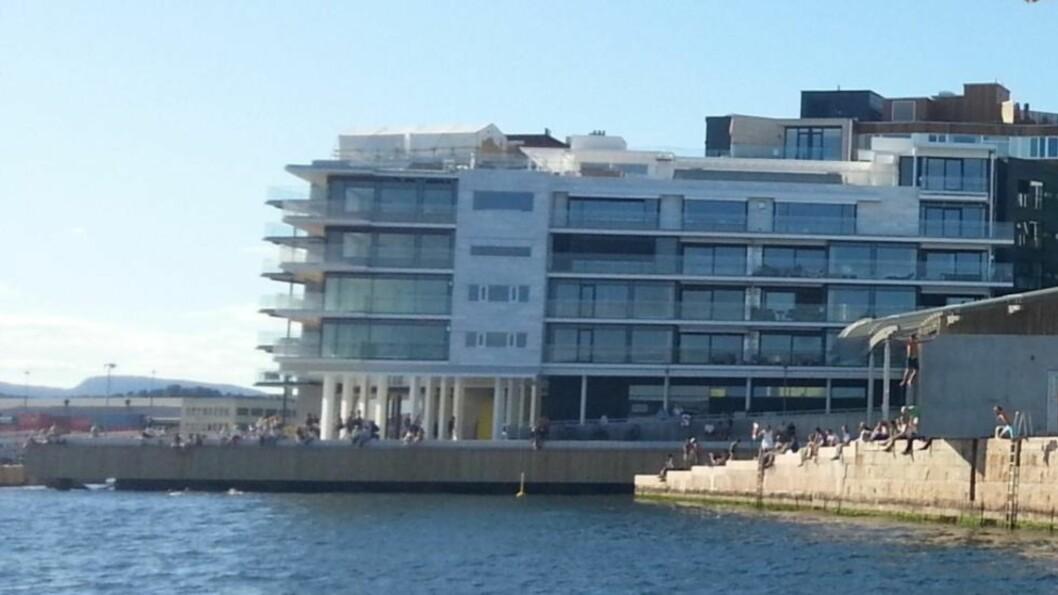 EIENDOM: Kjempeleiligheten i 3. etasje på Kavringen Brygge, under Olav Nils Sunde, ble solgt på rekordtid. Foto: HegnarOnline
