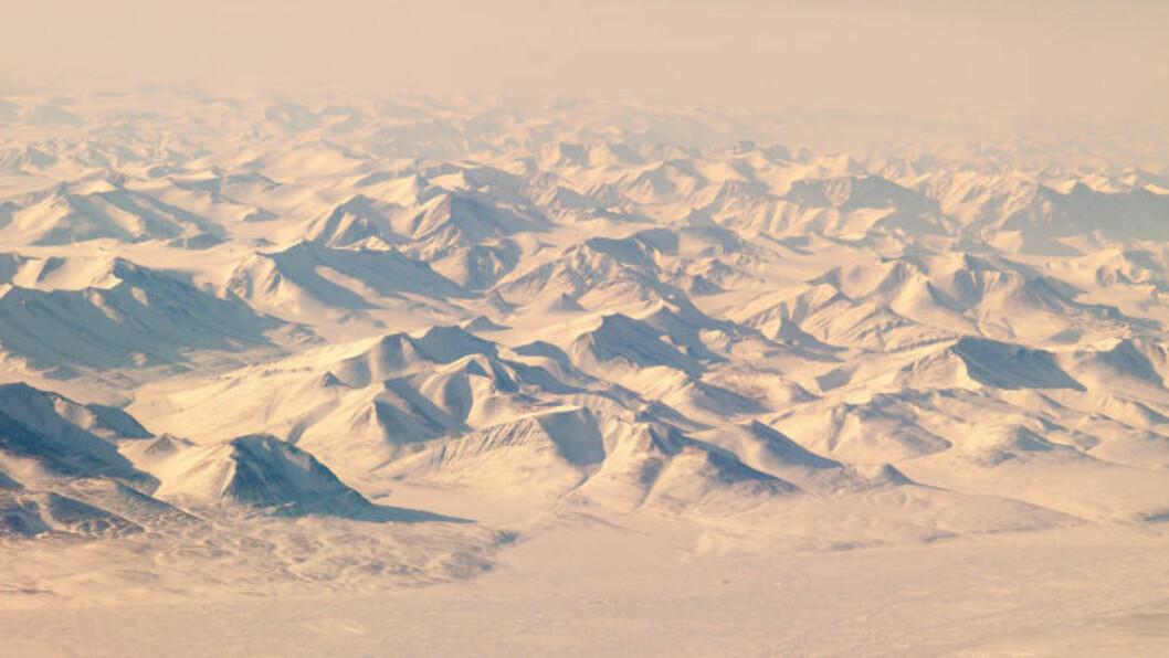 <strong>ISLANDSKAP:</strong> I tillegg til å se Nordpolen, er det mulig å se disse polare landskapene på Svalbard og Øst-Grønland. Foto: SABRA TOURS