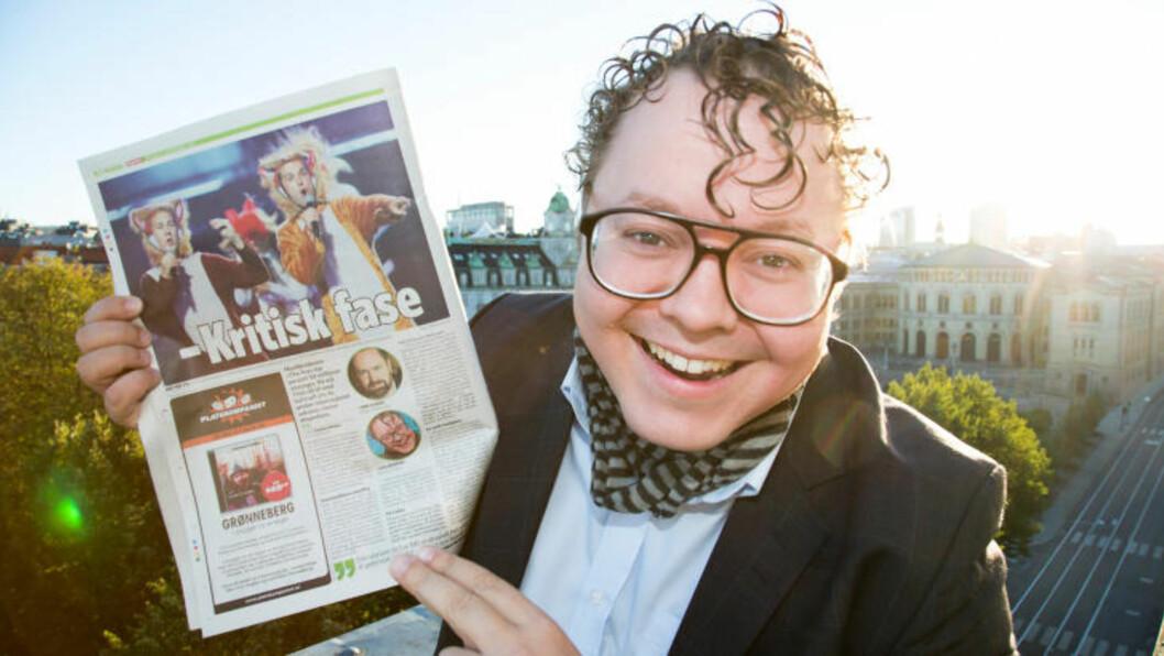 <strong>MÅ FÔRE REVEN:</strong> Medieviter Magnus Brøyn mener det er viktig at Ylvis-brødrene fortsetter å være tilstede og fôrer reven for å opprettholde sin suksess.
