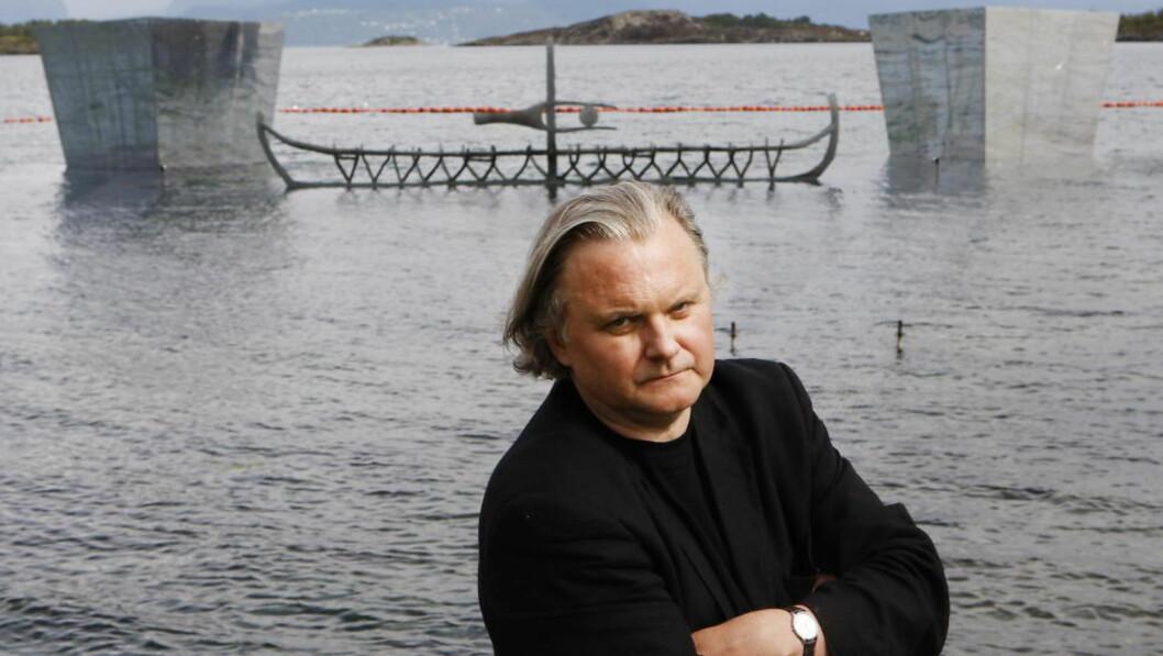 BLIR DET HAM? Jon Fosse er blant favorittene når vinneren av årets Nobelpris i litteratur offentliggjøres i dag. Foto: ERLING HÆGELAND/DAGBLADET