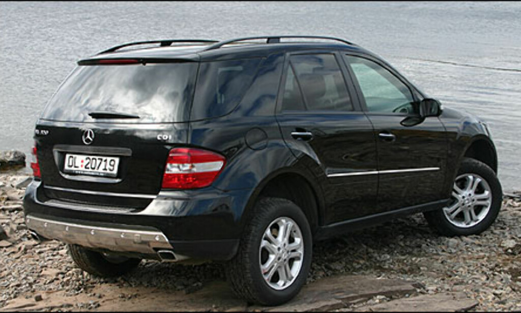 image: Store bilder Mercedes-Benz ML