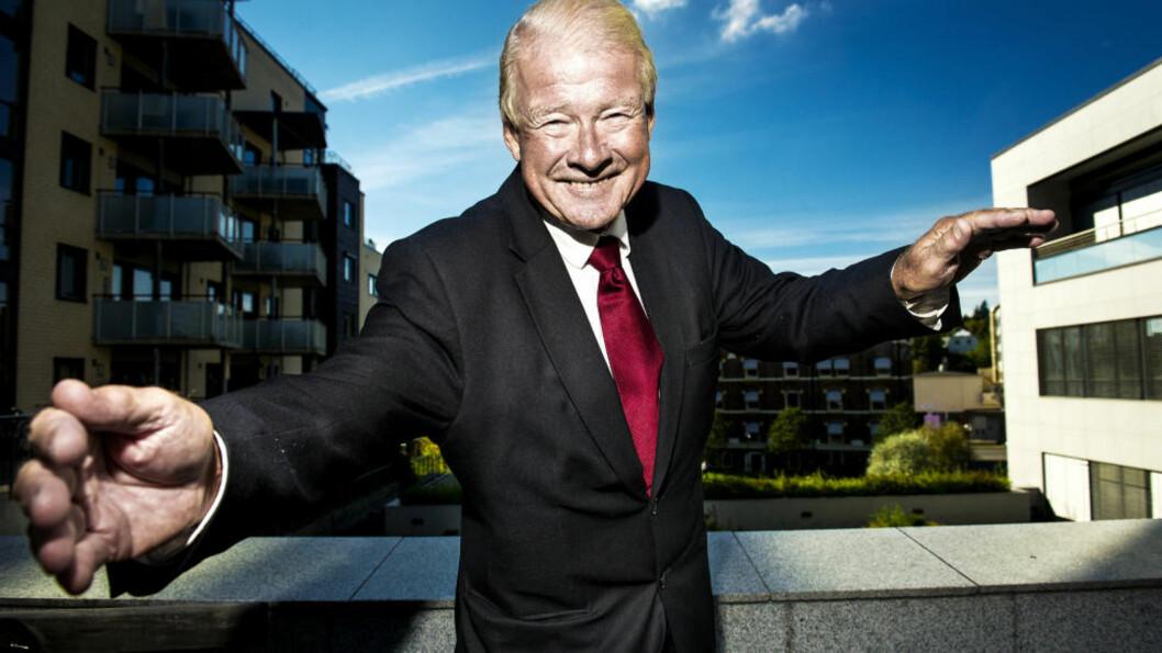 <strong>TILBAKE I MANESJEN:</strong> Tidligere Frp-leder Carl I. Hagen blir nestleder i samferdsels- og miljøkomiteen i Oslo bystyre. Foto: JOHN T. PEDERSEN/DAGBLADET