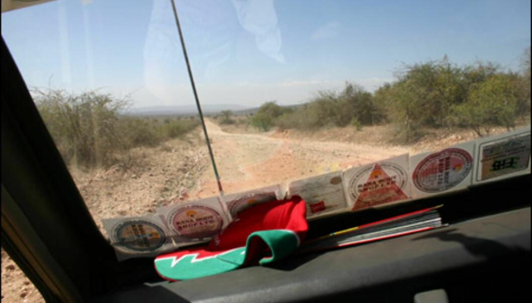 Veien inn og ut fra Mara er mildest talt elendig.