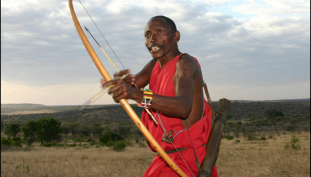 De aller fleste masaier har siden tidenes morgen livnært seg ved kvegdrift. Noen få stammer har imidlertid livnært seg ved jakt. Lemeria Ole Sakut, populært kalt Dorobo, er en av de få gjenlevende jegerne.