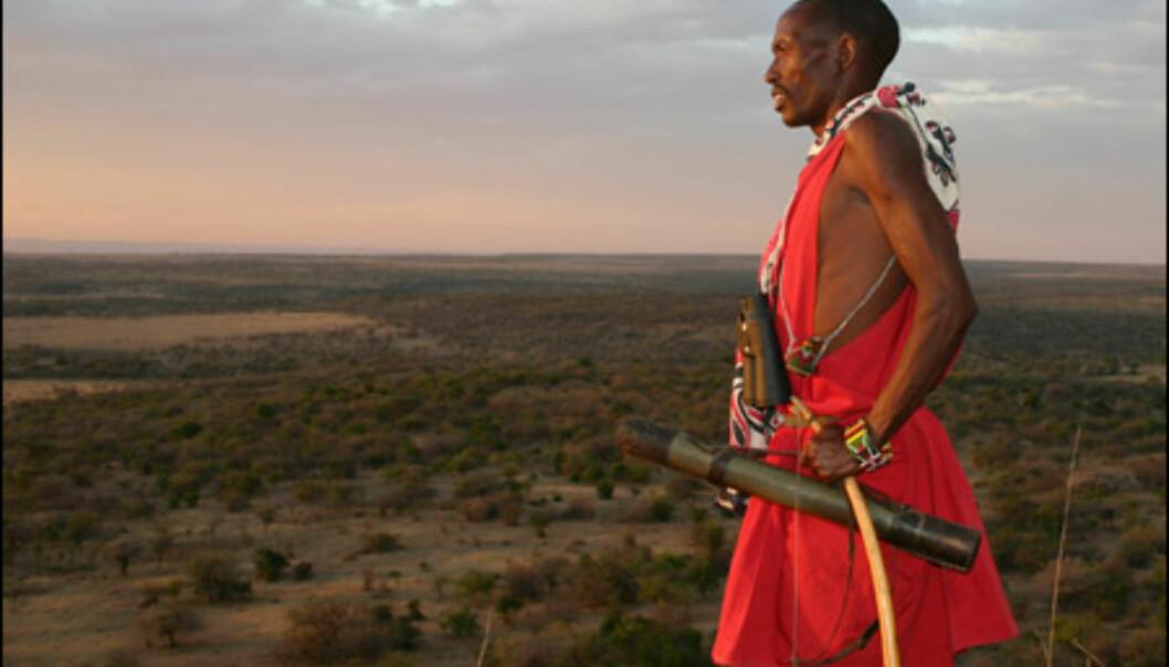 De aller fleste masaier kjenner Maras dyreliv godt. Men svært få leser dyrelivet like godt som jegeren Dorobo.