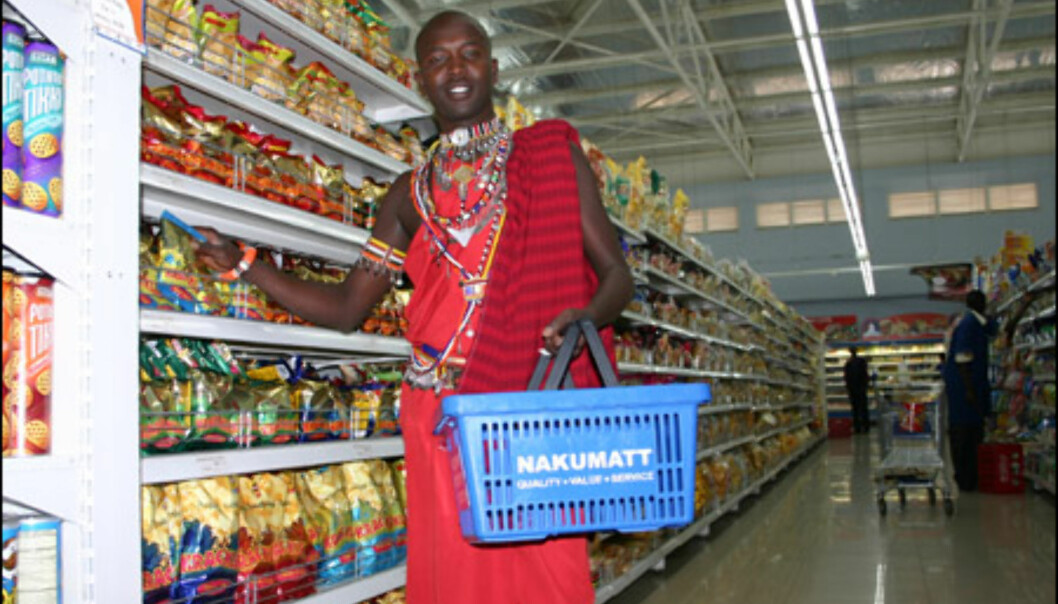 Selv om masaiene er svært stolte av sin tradisjonelle kultur, har de ingen problemer med å takle det moderne samfunnet.