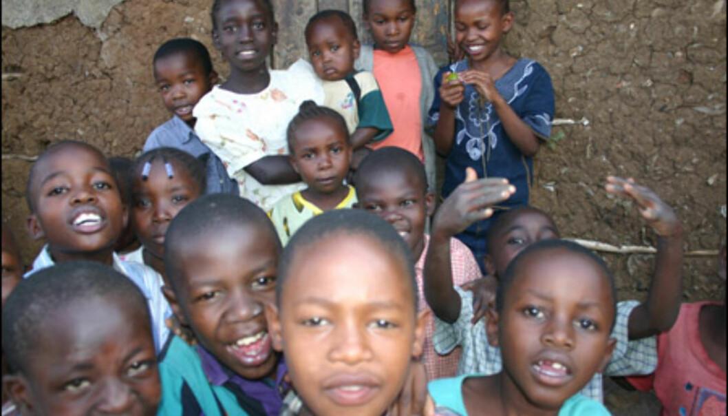 Et besøk i Nairobis slum gjør sterkt inntrykk.
