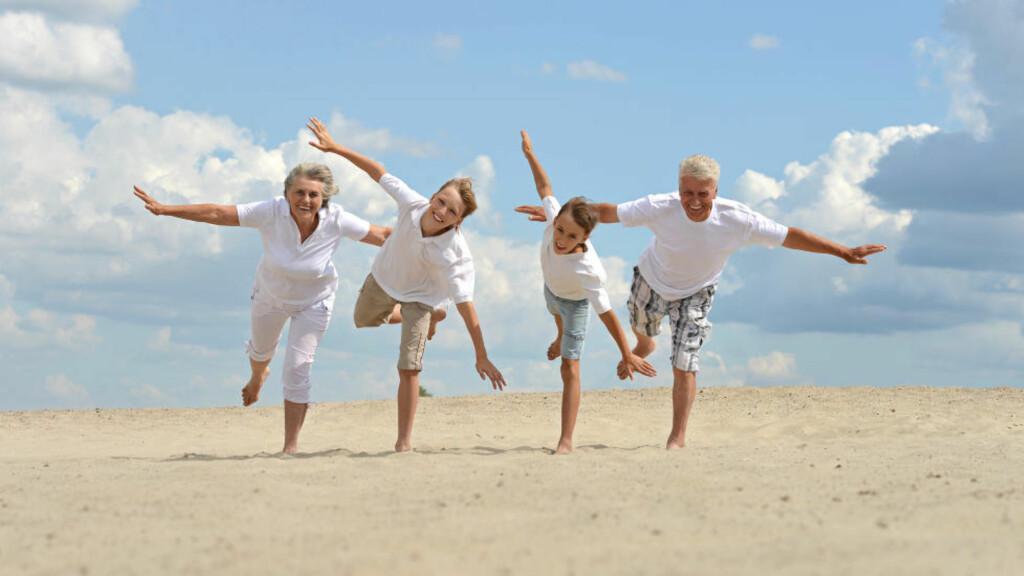 VARIERTE BEHOV: Utfordringene i forhold til helse, kosthold og trening vil variere i forhold til vår alder. Sjekk de beste tipsene for din aldersgruppe. Foto: COLOURBOX
