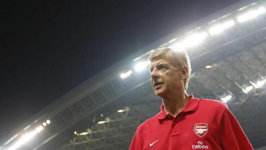 <strong> SULTEN:</strong>  Arsenals hærfører forteller at han er klar for å ta fatt på nye oppgaver i Arsenal og at han ikker har tenkt å gi seg med det første. Foto: Reuters / NTB Scanpix.