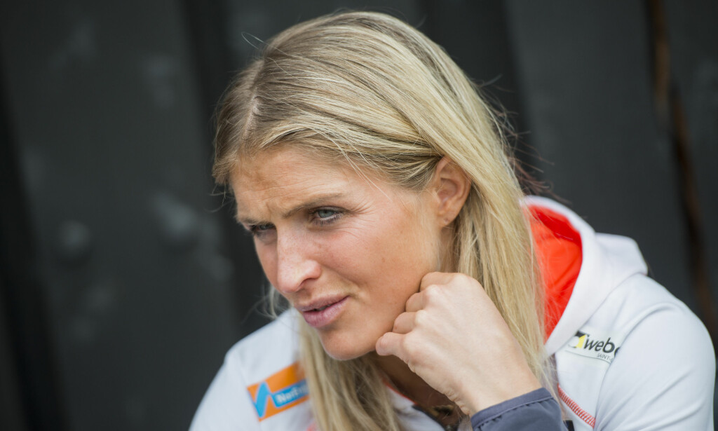 TESTET POSITIVT: Therese Johaug har testet positivt etter bruk av en leppekrem. Foto: Fredrik Varfjell / NTB scanpix