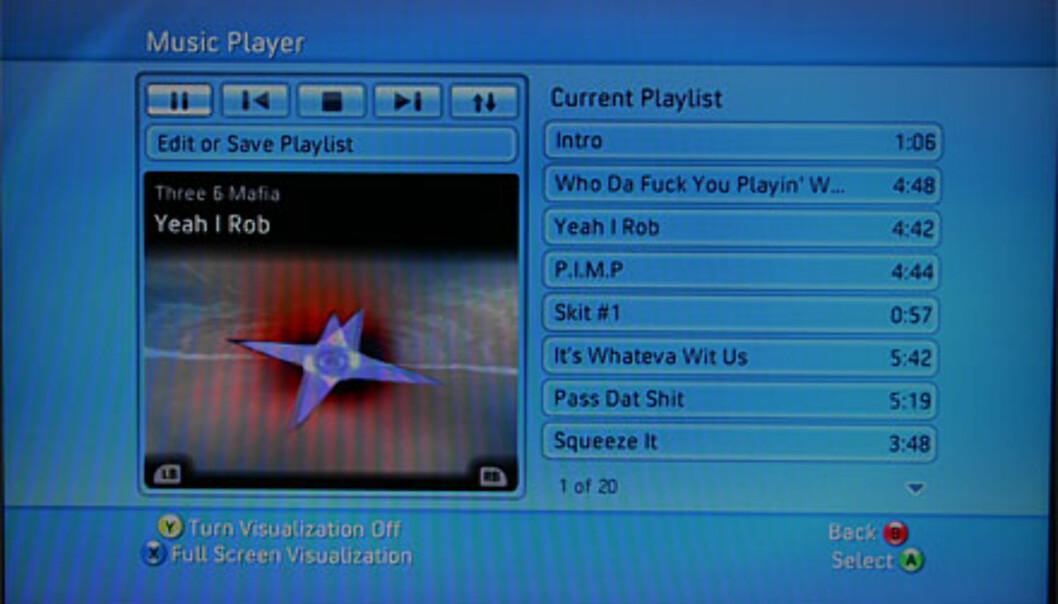Det går lynraskt å hente musikkinformasjon fra PCen