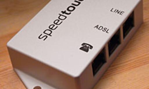 Internett: ADSL - med eller uten splitter? - DinSide