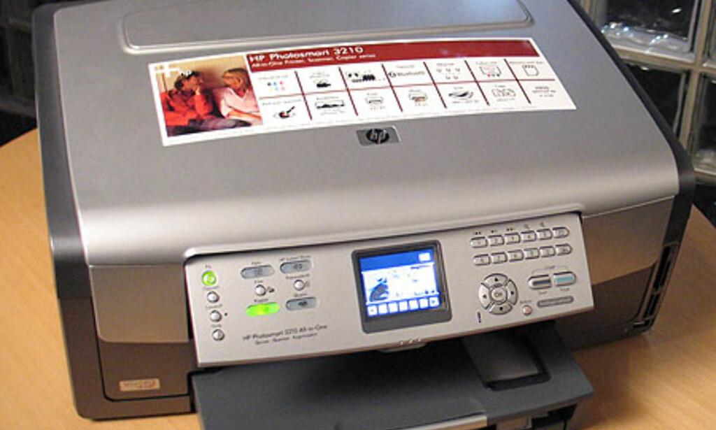 Test: HP Photomart 3210 - DinSide