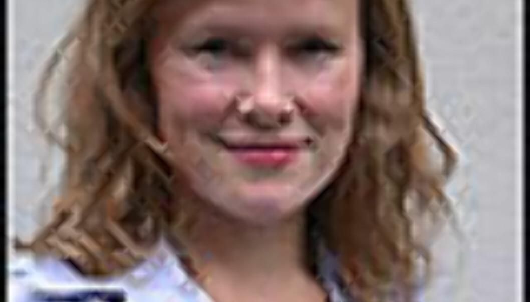 Inga Holst<br /> <br /> Journalist, DinSide Foto: Karoline Brubæk