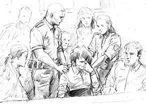 image: Nytt bevis legges fram i Vollen-saken:Video av tiltalte dagen før drapet