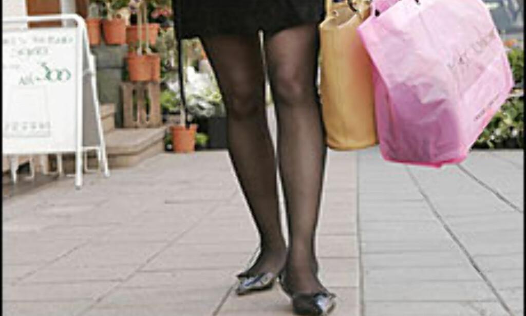 Med rabattkort blir den dyreste shoppingen billigere.<br /> <br /> <i>Foto: Per Ervland</i> Foto: Per Ervland