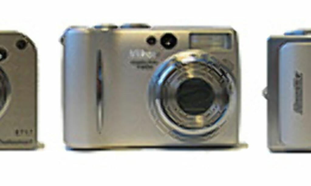 image: Fem høyaktuelle lommekameraer