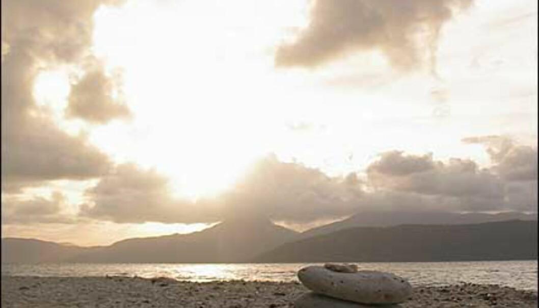 Nudey Beach er tillatt for nakenbadere. Foto: Sindre Storvoll